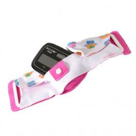 80638_AccuChek_ Insight Bauchgurt für Kinder pink mit Eulendruck