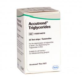 Accutrend-Triglyceride-Streifen-Packung