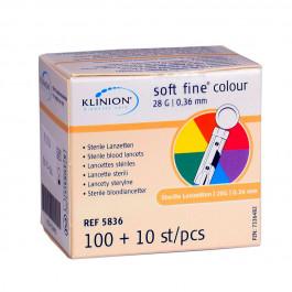 Klinion-Lanzetten-28G-110er-Pack
