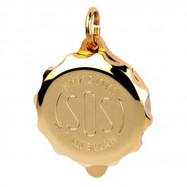 SOS-X-Talismann-Gold