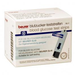 Beurer-GL40-Teststreifen