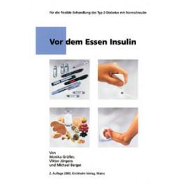 Vor dem Essen Insulin