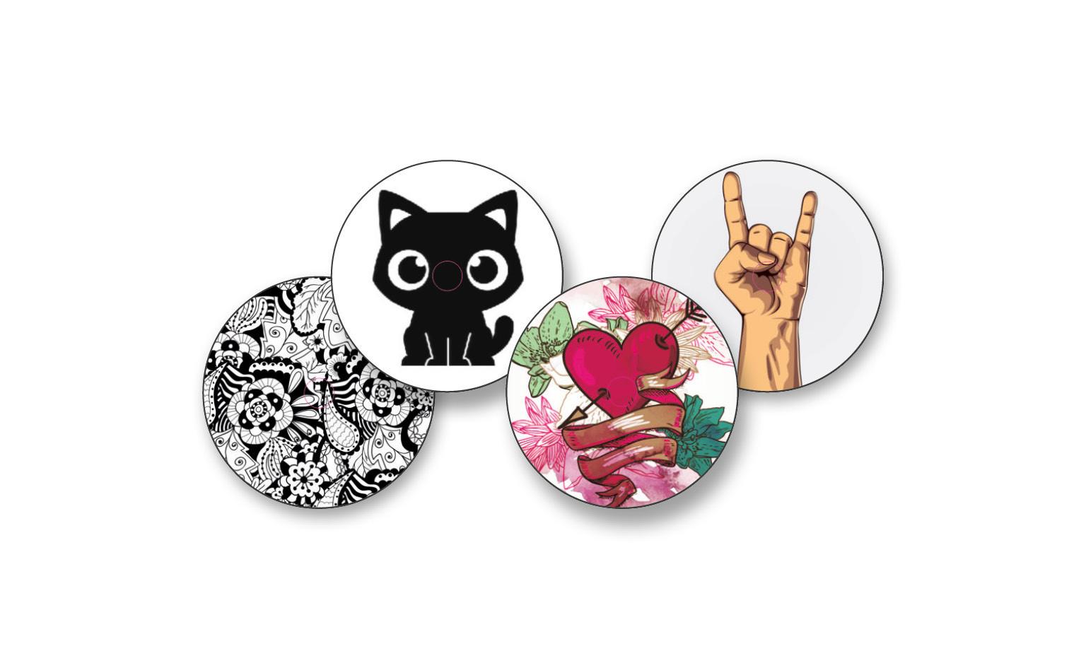 Sticker Set Tattoo Aufkleber Für Freestyle Libre 4 Stück