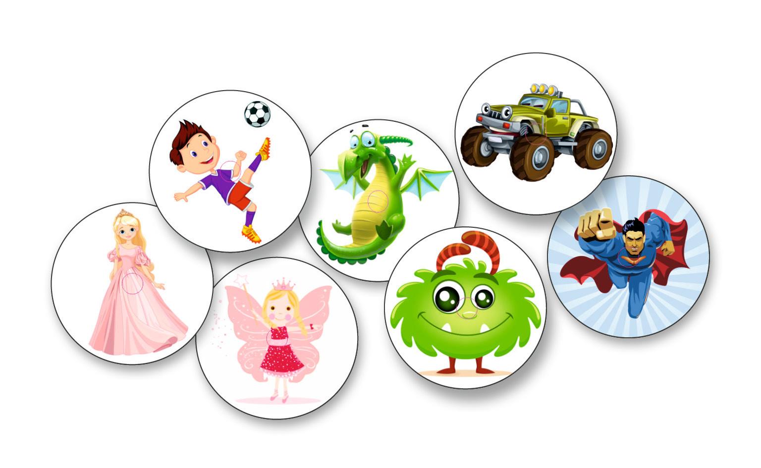 Sticker Set Kids Aufkleber Für Freestyle Libre 7 Stück