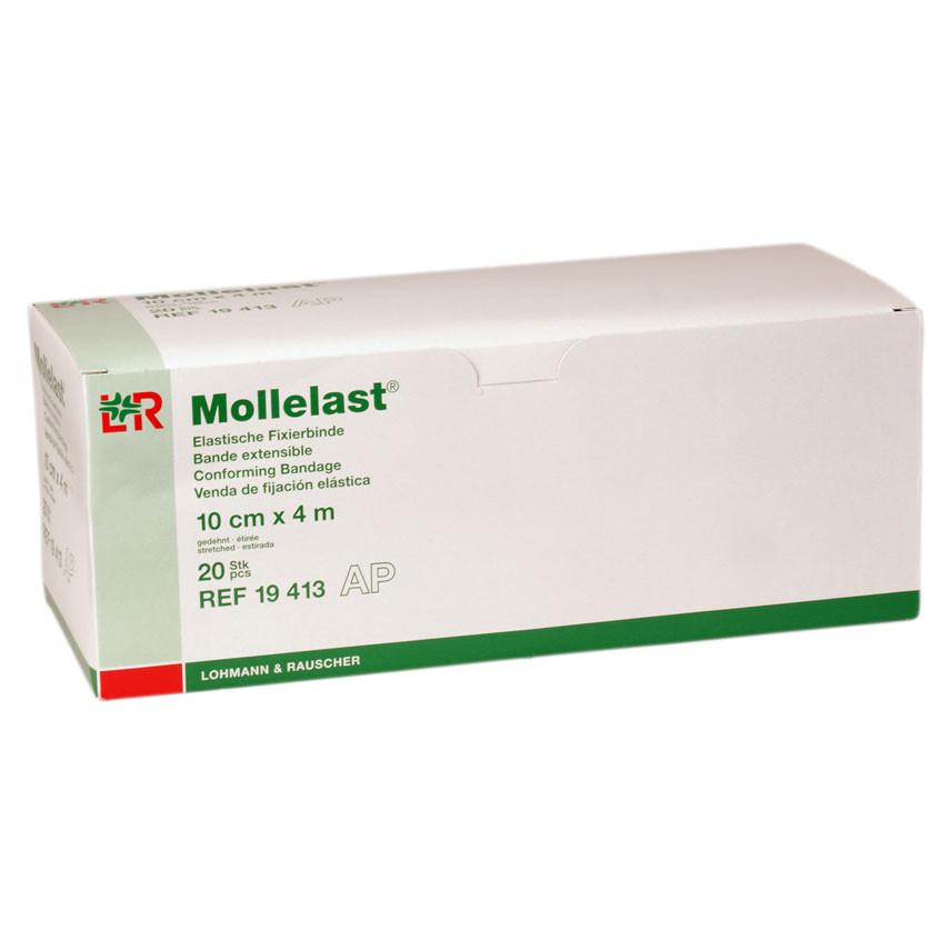 Mollelast 4 m x 10 cm elastische Fixierbinde 20 Stück