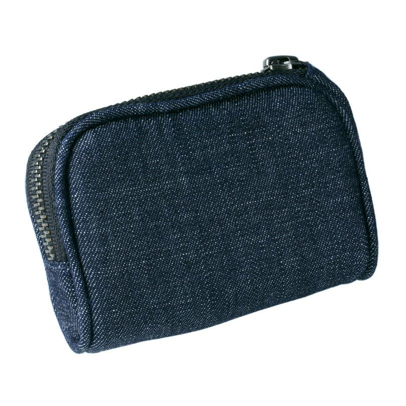 Attraktiv Jeans-Tasche mit Reißverschluss und Clip MiniMed - ACC-260/ 1  KM03