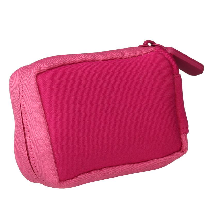 a3023db2520f4 Neopren-Tasche mit Clip und Reißverschluss pink - ACC-810PINK   1 ...