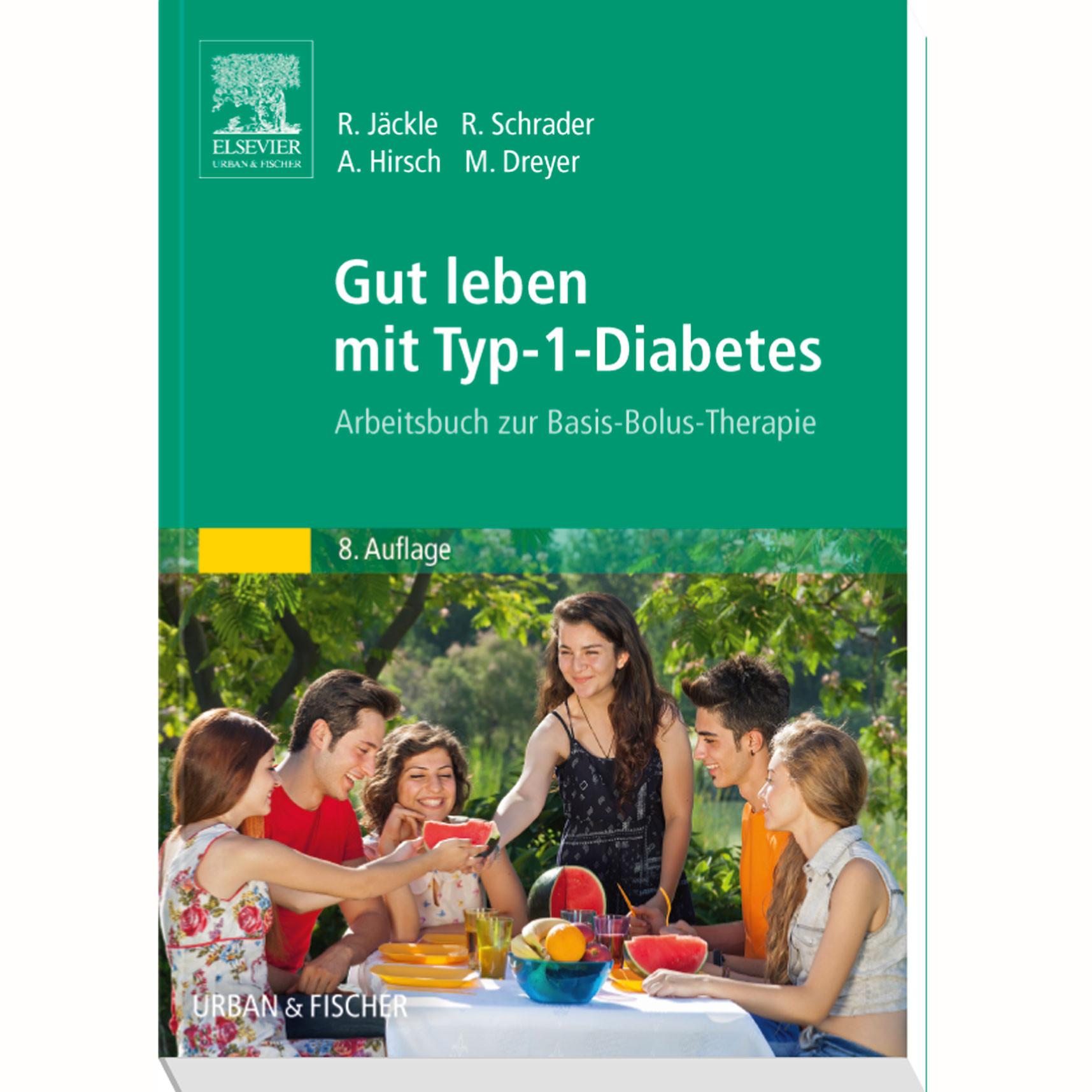 Gut leben mit Typ-1-Diabetes - Schulungsbuch / 1 Buch   DIASHOP