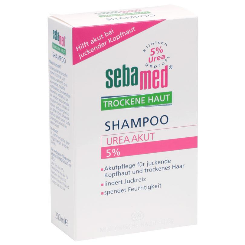 sebamed trockene haut shampoo urea 5 shampoo 200 ml diashop. Black Bedroom Furniture Sets. Home Design Ideas