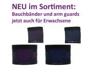 Senior Belly one Bauchgurt und arm guard für Erwachsene - für Pumpen und/oder Sensor