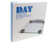DAY - Glas-Personenwaage mit Sprachausgabe / 1 Stück