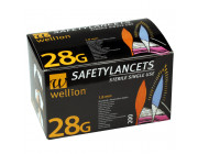 Wellion-SafetyLancets-28G