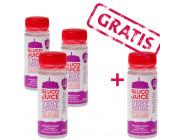 GlucoJuice 3+1 - schnell wirkendes Energiegetränk / 4 Stück