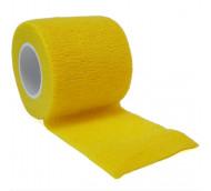 autsch & go Fixiertape gelb 5 cm x 4,5 m - Fixierung für Pod/Sensor / 1 Rolle