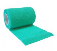 autsch & go Fixiertape grün 7,5 cm x 4,5 m - Fixierung für Pod/Sensor / 1 Rolle