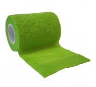 autsch & go Fixiertape hell-grün 7,5 cm x 4,5 m - Fixierung für Pod/Sensor / 1 Rolle