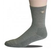 Ihle Diabetikersocke schwarz Gr. 43-46 - Amicor-Socke / Halbplüsch / 1 Paar