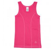 Kinderunterhemd mit Pumpentasche -SINGLET BASE ONE- Minnie pink Gr. 110/116 - Pumpenshirt / 1 Stück