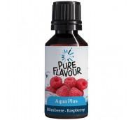Pure Flavour Aqua Plus Himbeere - Geschmackstropfen für fruchtiges Wasser / 30 ml