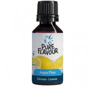 Pure Flavour Aqua Plus Zitrone - Geschmackstropfen für fruchtiges Wasser / 30 ml