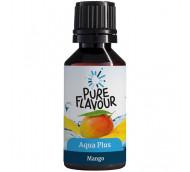 Pure Flavour Aqua Plus Mango - Geschmackstropfen für fruchtiges Wasser / 30 ml