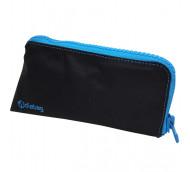 Diabag SUNNY groß Nylon schwarz/cyan - Diabetikertasche / 1 Stück