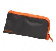 Diabag SUNNY groß Nylon anthrazit/orange - Diabetikertasche / 1 Stück
