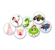 """Sticker-Set """"Kids"""" - Aufkleber für FreeStyle Libre / 7 Stück"""