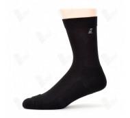 Ihle Diabetikersocke schwarz Gr. 47-50 - Amicor-Socke / Halbplüsch / 1 Paar