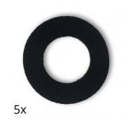 Diasticker FreeStyle Libre Fixierungspflaster - schwarz / 5 Stück