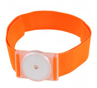 DIASHOP Trageband für FreeStyle Libre Sensoren Neon Orange - 1 Stück