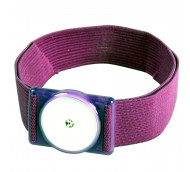 DIASHOP Trageband für FreeStyle Libre Sensoren Lila - 1 Stück
