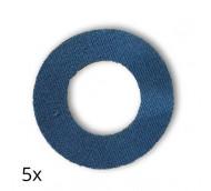 Diasticker FreeStyle Libre Fixierungspflaster - Navy blau / 5 Stück