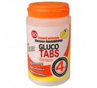 GlucoTabs Traubenzucker-Nachfüllbox - Geschmacksrichtung Orange / 50 Tabletten