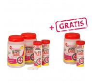 GlucoTabs Traubenzucker 2+1 - Geschmacksrichtung Himbeere / 180 Tabs