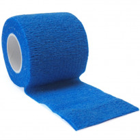 autsch & go Fixiertape blau 5 cm x 4,5 m - Fixierung für Pod/Sensor / 1 Rolle