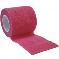 autsch & go Fixiertape pink 5 cm x 4,5 m - Fixierung für Pod/Sensor / 1 Rolle