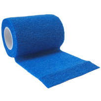 autsch & go Fixiertape blau 7,5 cm x 4,5 m - Fixierung für Pod/Sensor / 1 Rolle