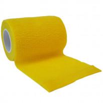autsch & go Fixiertape gelb 7,5 cm x 4,5 m - Fixierung für Pod/Sensor / 1 Rolle