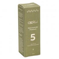 CBD Vital CBD Naturextrakt Premium Öl 5 % (500 mg CBD) / 10 ml