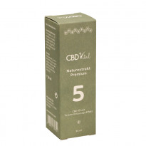 CBD Vital CBD Naturextrakt Premium Öl 5 % (1.500 mg CBD) / 30 ml