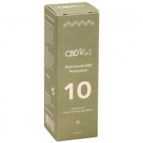 CBD Vital CBD Naturextrakt Premium Öl 10 % (1.000 mg CBD) / 10 ml