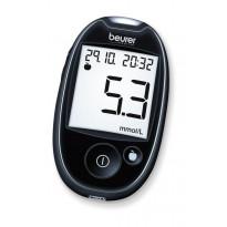 Beurer GL 44 mmol/L schwarz - Blutzuckermessgerät / 1 Set