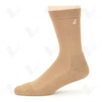 Ihle Diabetikersocke beige Gr. 35-38 - Amicor-Socke / Halbplüsch / 1 Paar