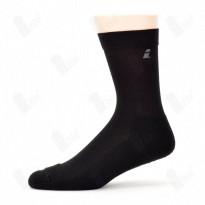 Ihle Diabetikersocke schwarz Gr. 35-38 - Amicor-Socke / Halbplüsch / 1 Paar