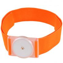 DIASHOP Trageband für FreeStyle Libre Sensoren - Neon Orange / 1 Stück