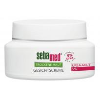 sebamed Trockene Haut Gesichtscreme Urea Akut 5 % - Creme / 50 ml