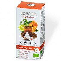 Bistrotea Bio Harmony Tea - Earl Grey Tee mit Orange / 30 g