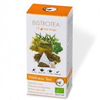 Bistrotea Bio Wellness Tea - Kräutertee mit Honiggeschmack / 30 g