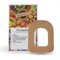 Diasticker Omnipod Fixierungspflaster - beige / 5 Stück